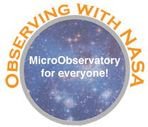 Observing With NASA logo/button