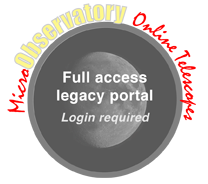 Legacy MicroObservatory logo/button
